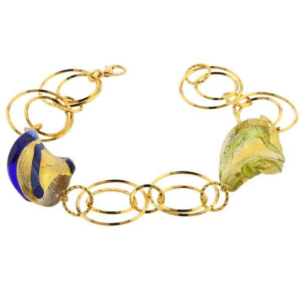 Royal Cascade Murano Bracelet