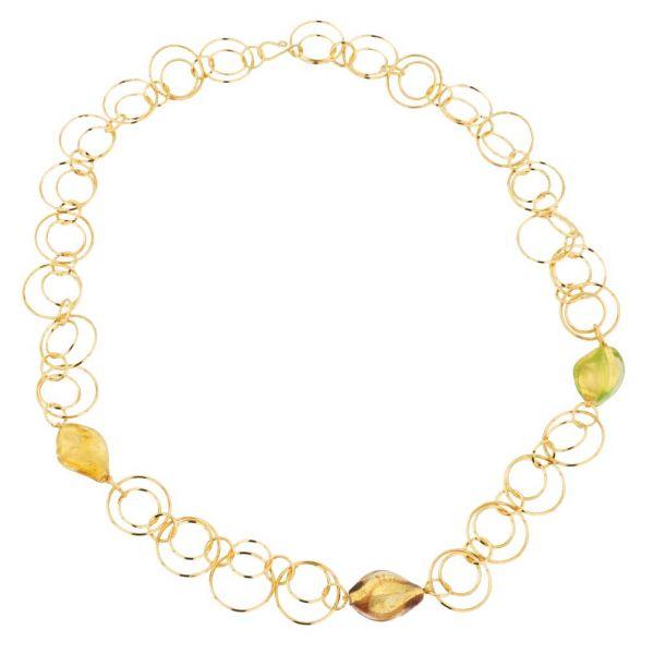 Royal Cascade Murano Necklace