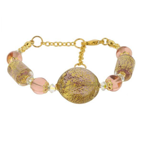 Ca D\'Oro Murano Bracelet - Purple