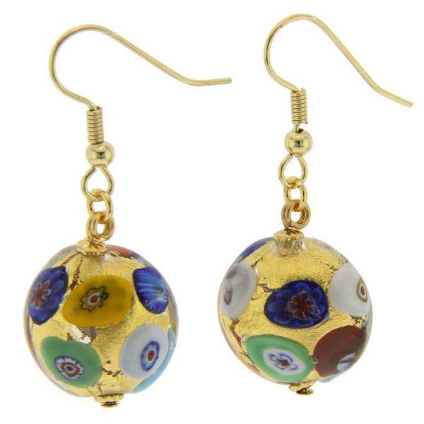 Ca D\'Oro Earrings - Klimt