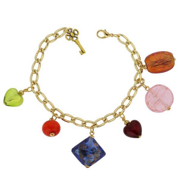 Venetian Charms Bracelet - Gold