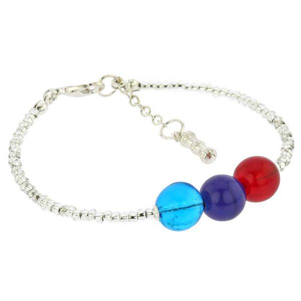 Silver Spring Children\'s Murano Glass Bracelet