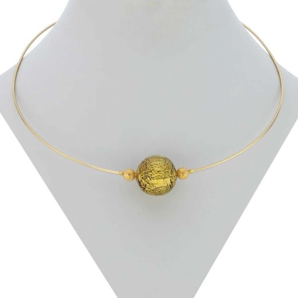 Ruby Red Ca D\'oro Choker Necklace