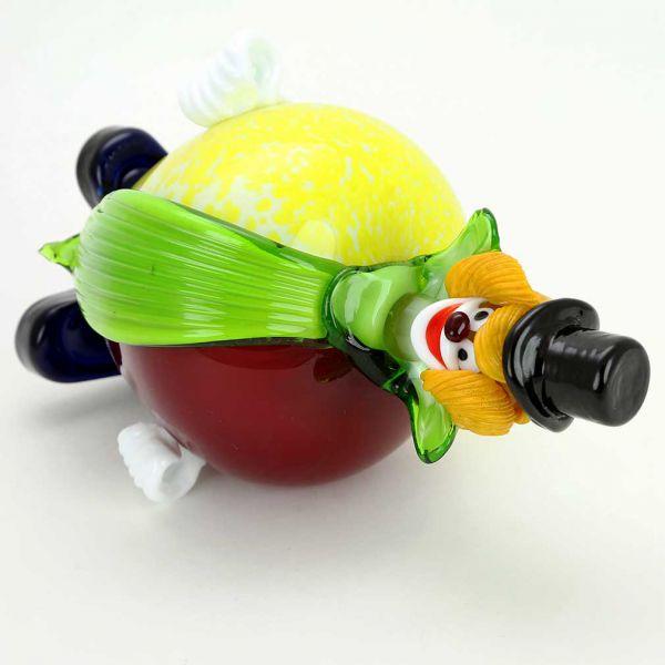Murano Glass Clown - Apple