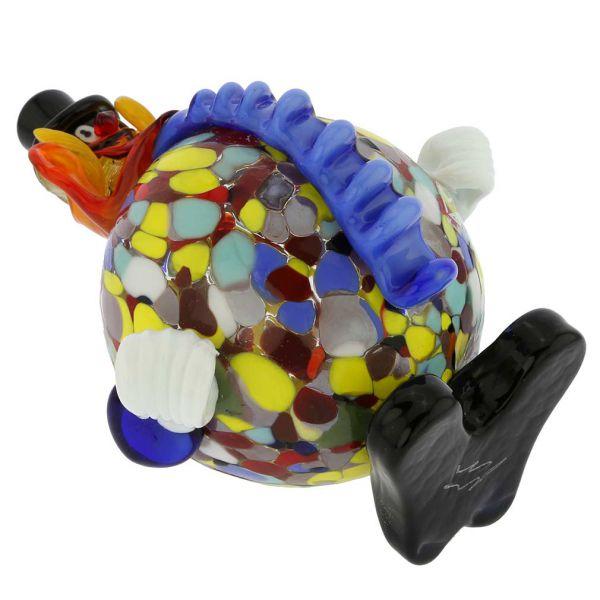 Murano Glass Clown - Round
