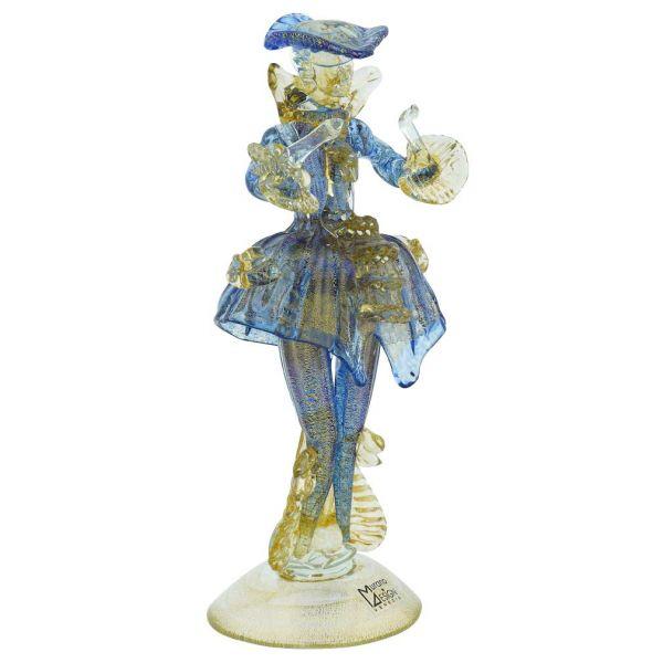 Venetian Goldonian Gentleman - Blue and Gold