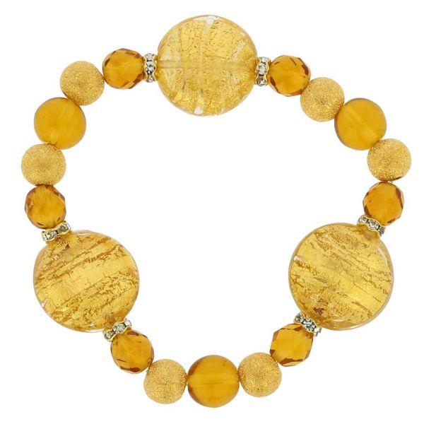 Murano Magic Bracelet - Sunshine Gold