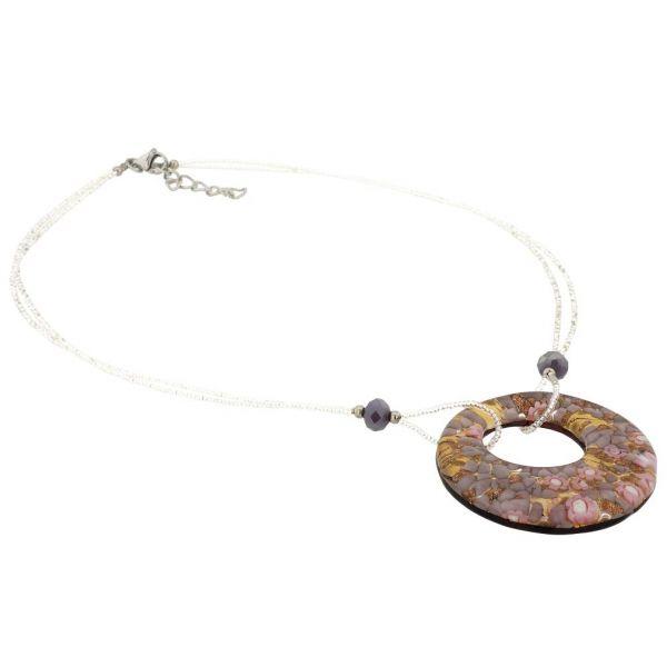 Murano Lava Necklace - Multicolor