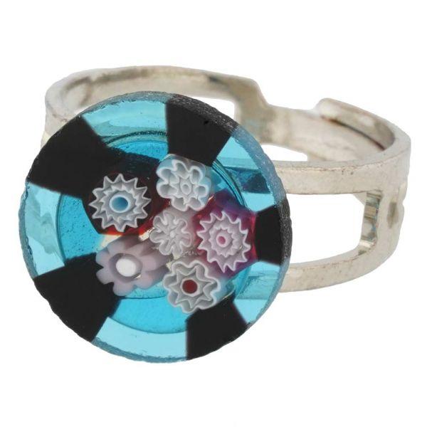 Murano Millefiori Ring #11