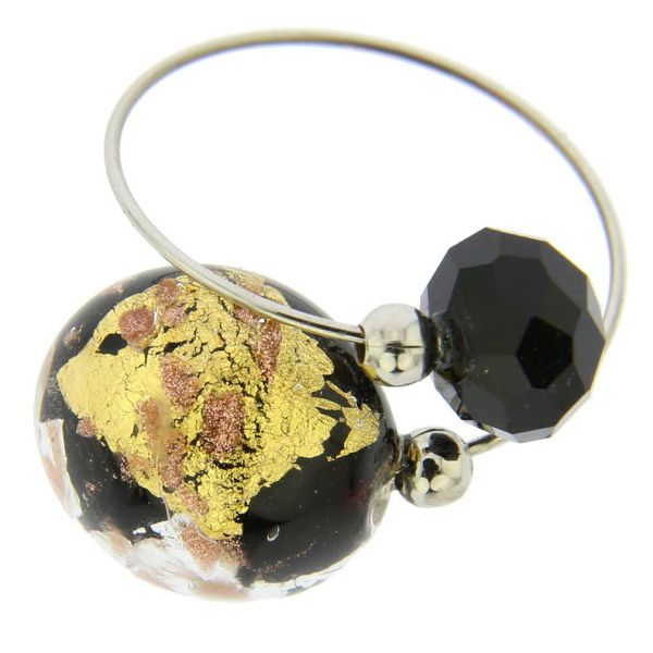 Lagoon Reflections Ring - Gold and Silver