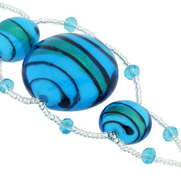 Venetian Dream Bracelet - Blue and Gold