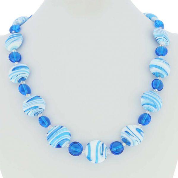 Murano Wonders Necklace - Caribbean Dream