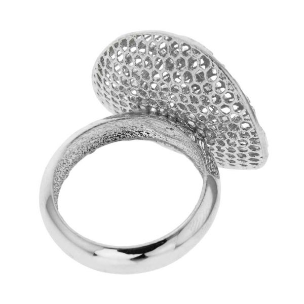 Graceful Twists Sterling Silver Ring