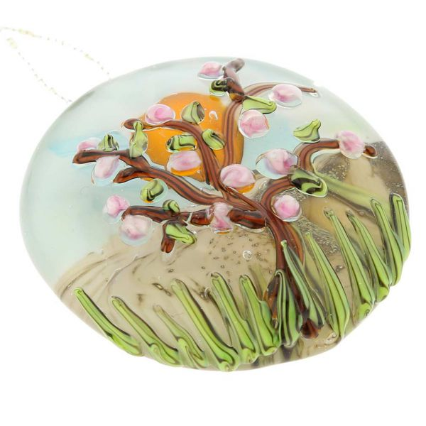 Blooming Tree Murano Necklace