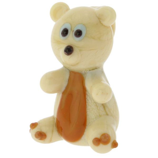 Murano Glass Teddy Bear Pendant
