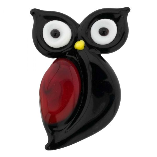 Murano Glass Owl Pendant