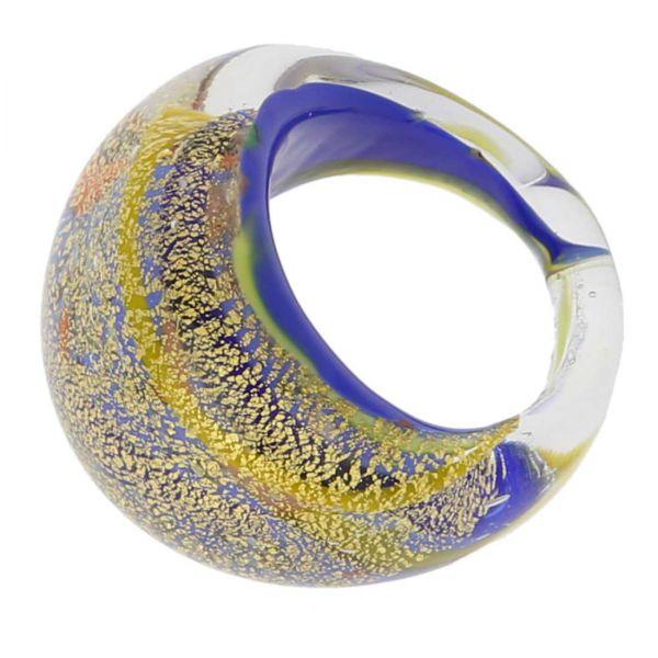 Avventurina Sunny Sky Ring In Domed Design