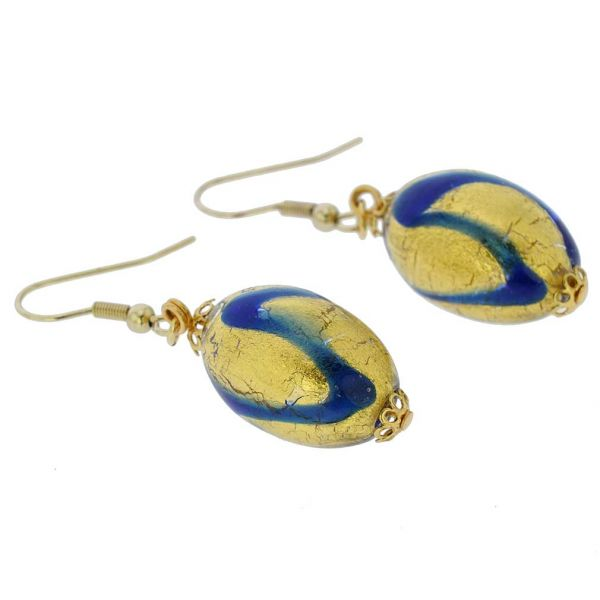 Royal Blue Capsule Earrings
