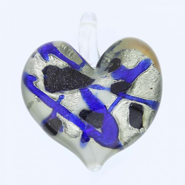Tender Heart Pendant - Icy River