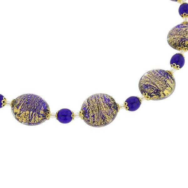 Necklace Ca D\'Oro - Cobalt Blue