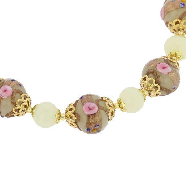 Necklace Venezia - Ivory
