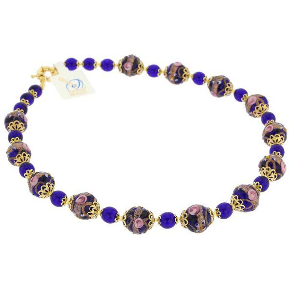 Necklace Venezia - Cobalt Blue