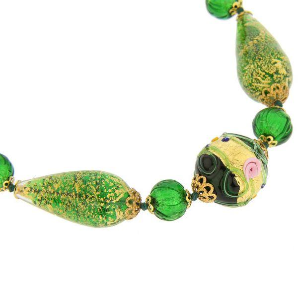 Necklace Carnivale Di Venezia - Emerald