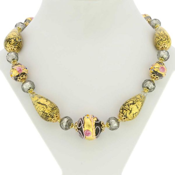 Necklace Carnivale Di Venezia - Cloudy Sky