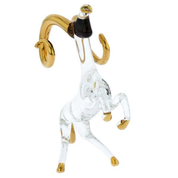 Murano Glass Zodiac Sign - Aries