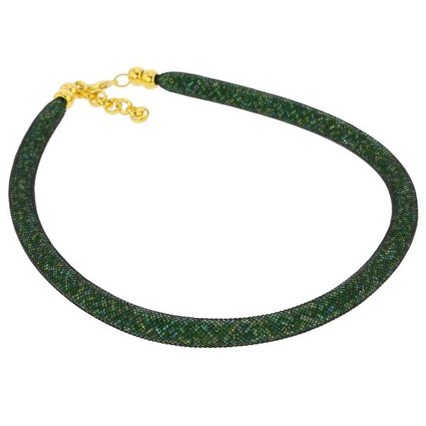 Murano Necklace Eleganza - Green