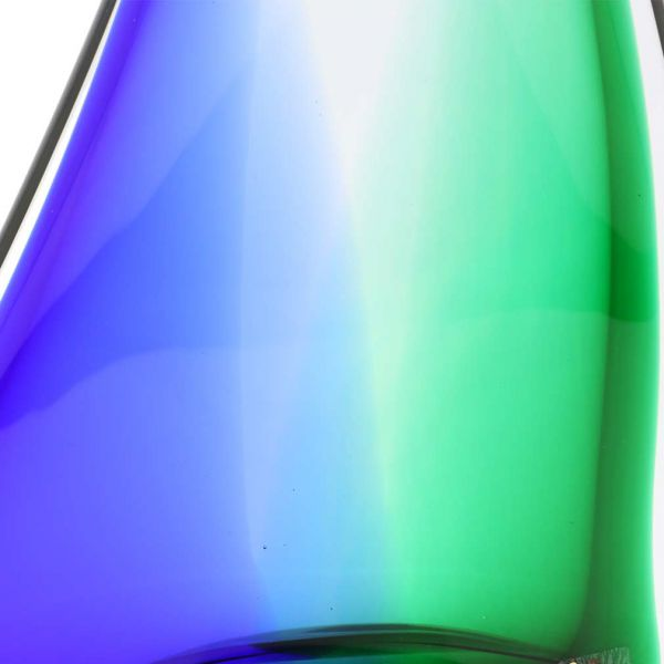 Murano Glass Large Sailboat - Blue and Green