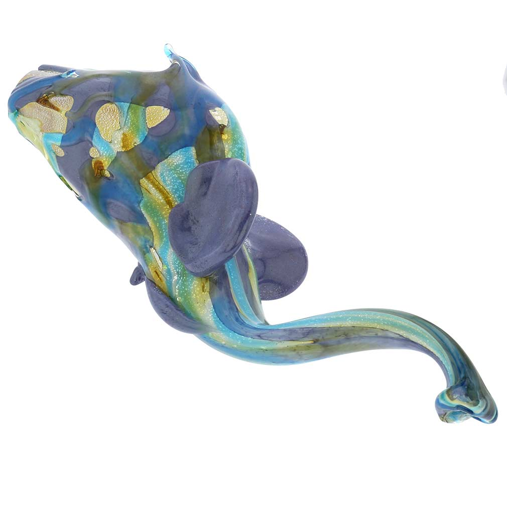 Murano Glass Shimmering Elephant