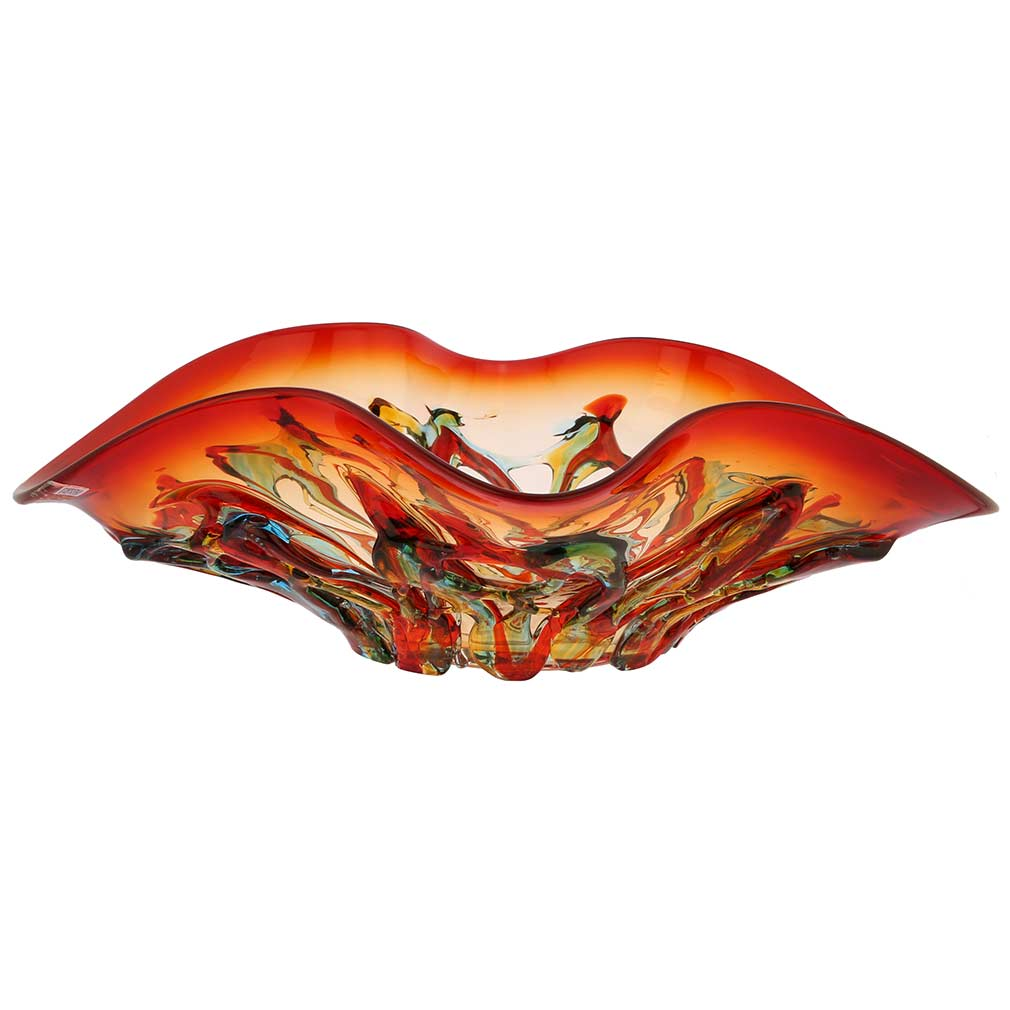 Murano Glass Mars Centerpiece Bowl