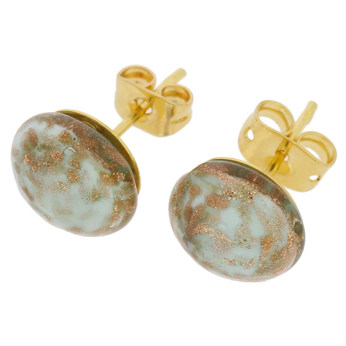 Starlight Small Stud Earrings - Sky Blue