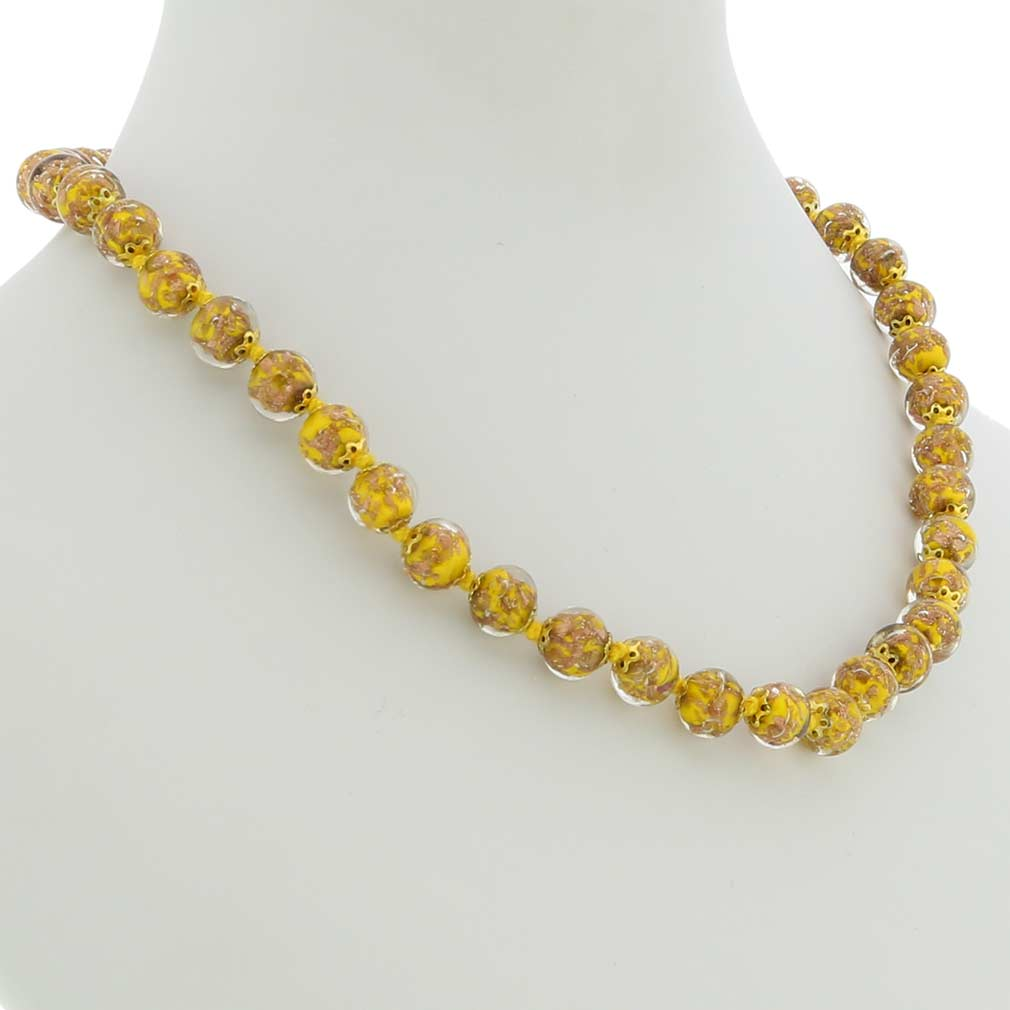 Sommerso Necklace - Yellow