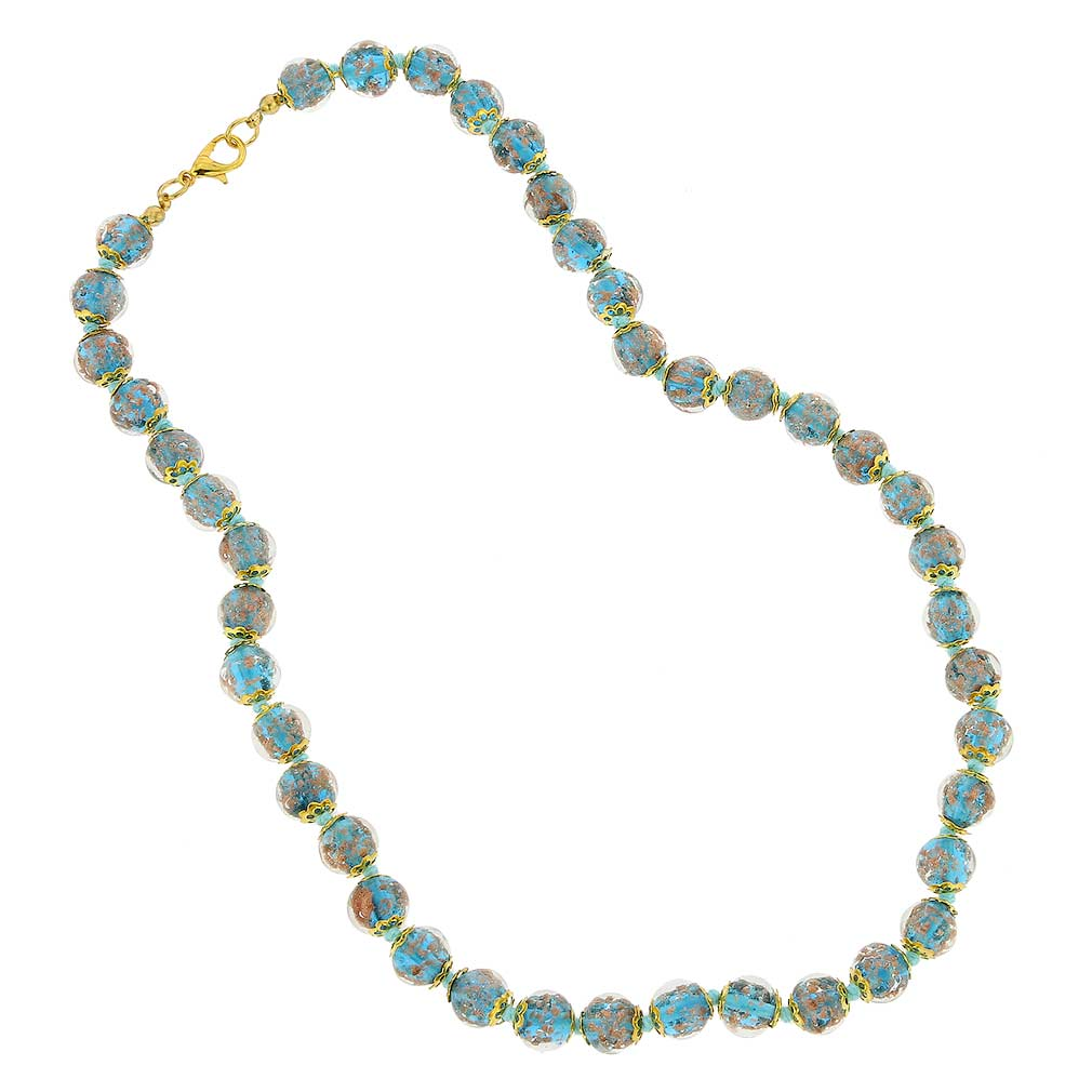 Sommerso Necklace - Teal