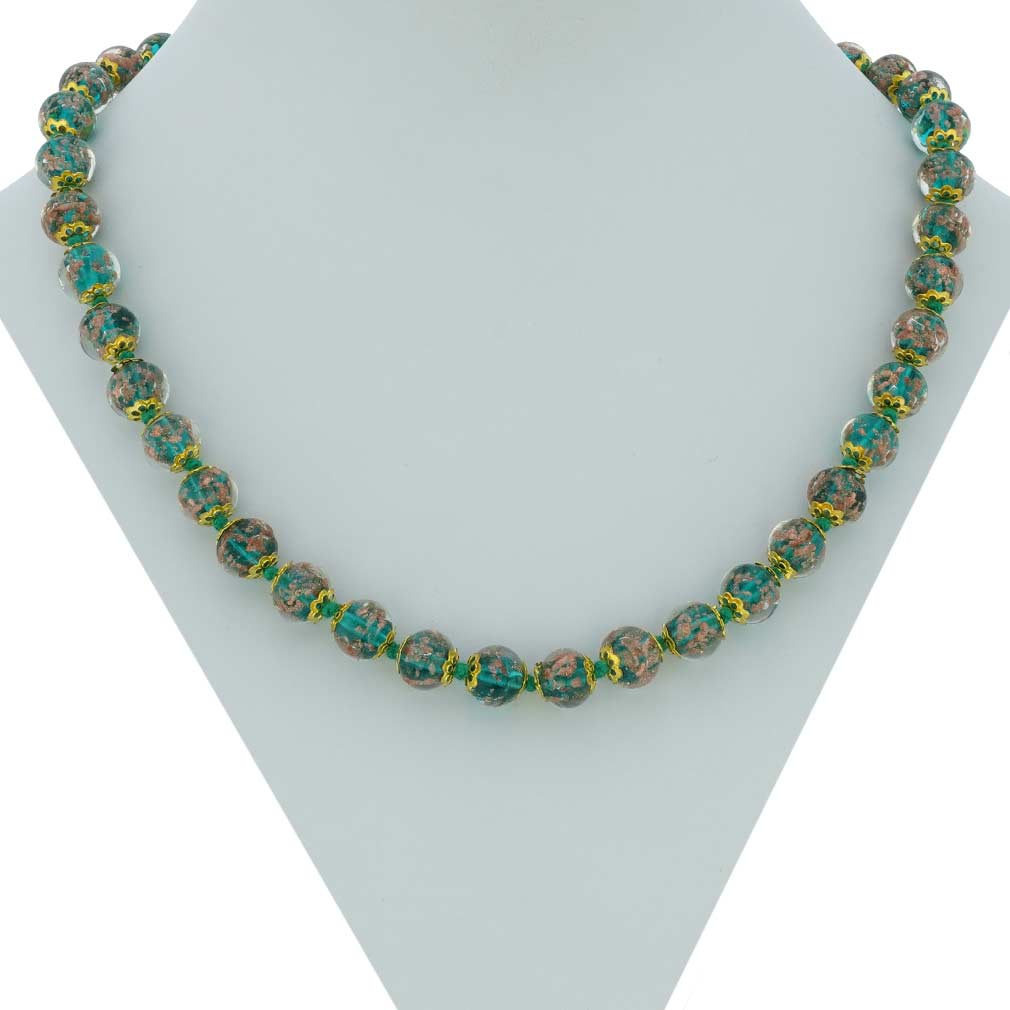 Sommerso Necklace - Jade Green