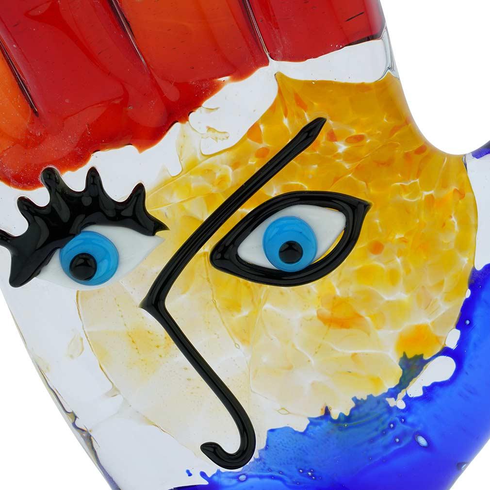 Murano Glass Picasso Hand