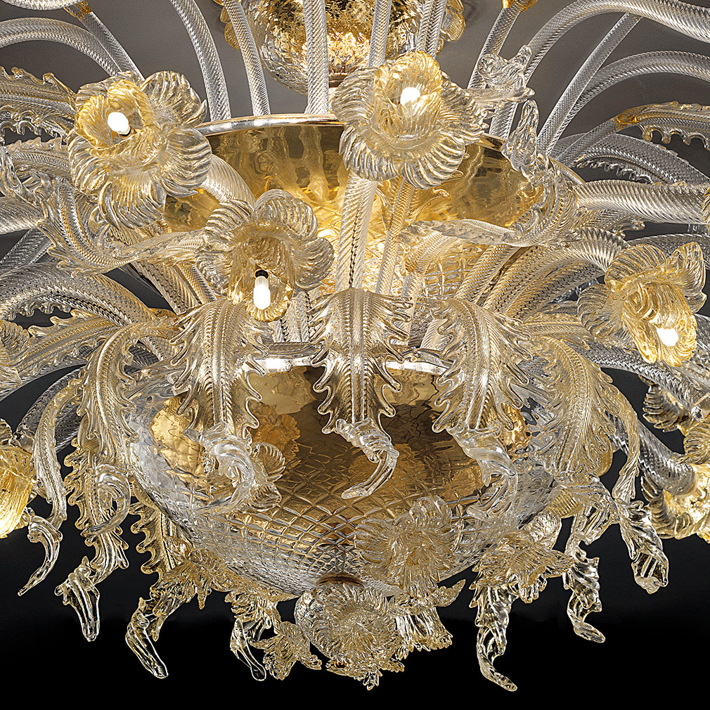 Amelie Murano Glass Chandelier