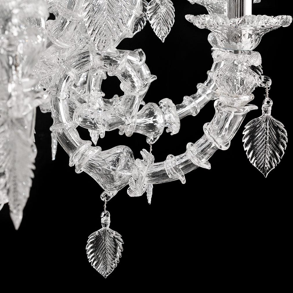 Ananas Murano Glass Chandelier