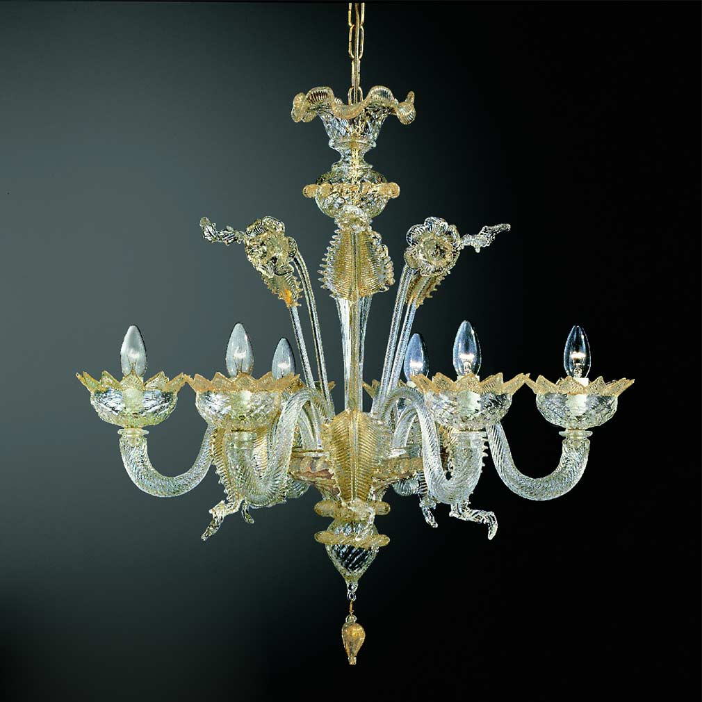 Caenasso Murano Glass Chandelier