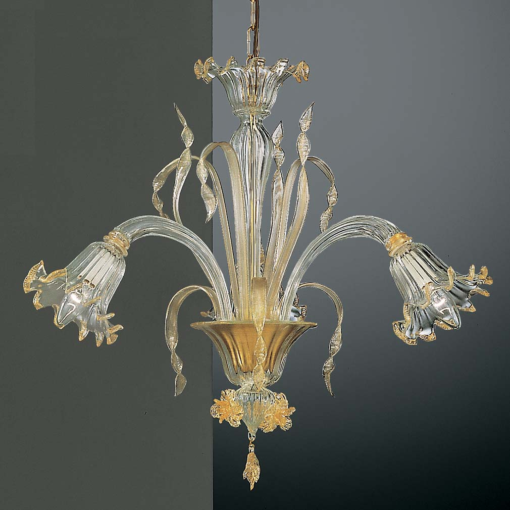 Glass Blown Chandelier Venetian Glass Chandeliers