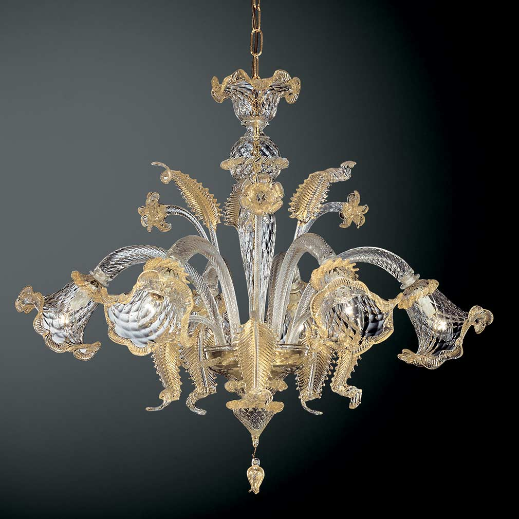 Venetian chandelier glass blown chandeliers geppa murano glass chandelier aloadofball Gallery