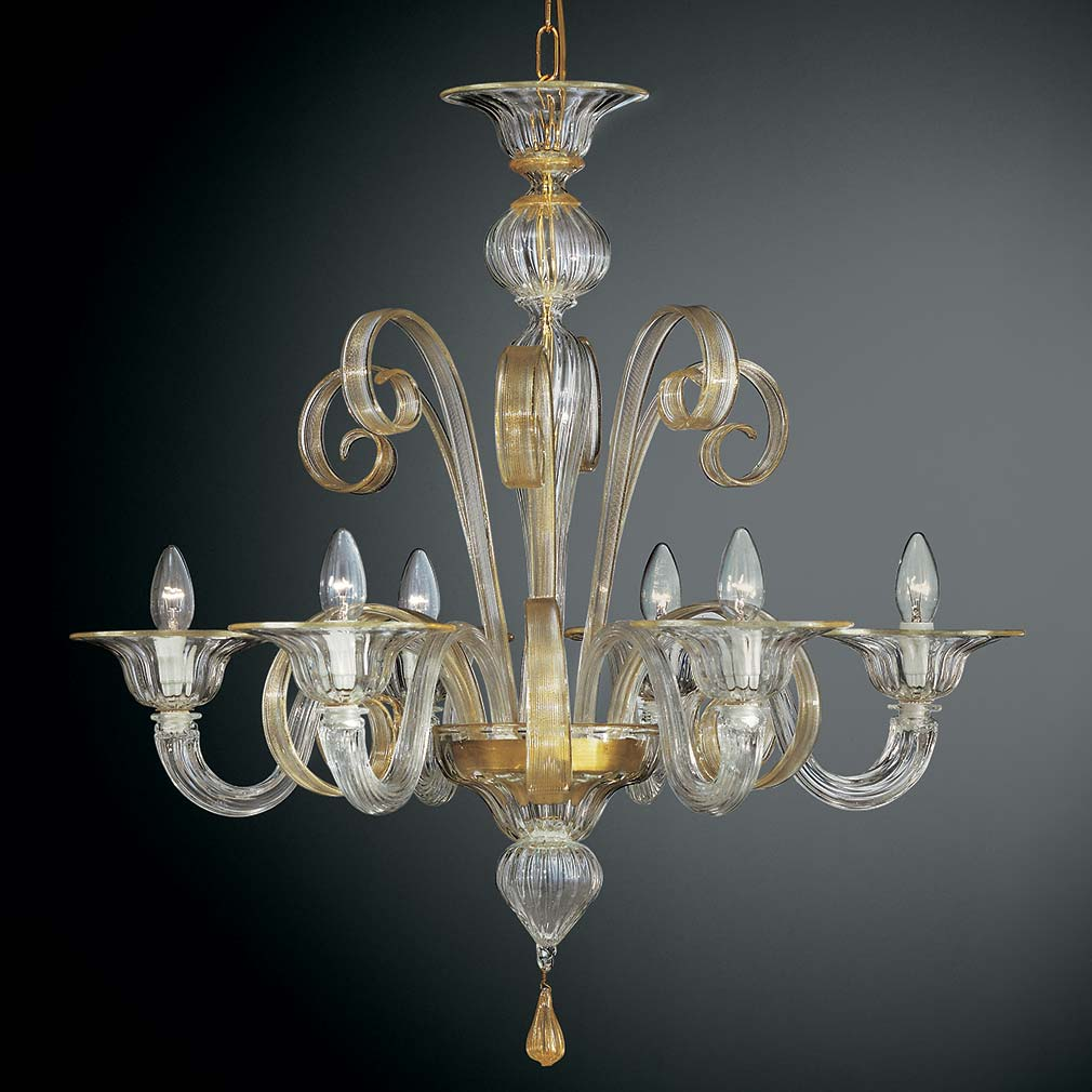 Chandelier Lighting Glass: Pastorale Suso Chandelier