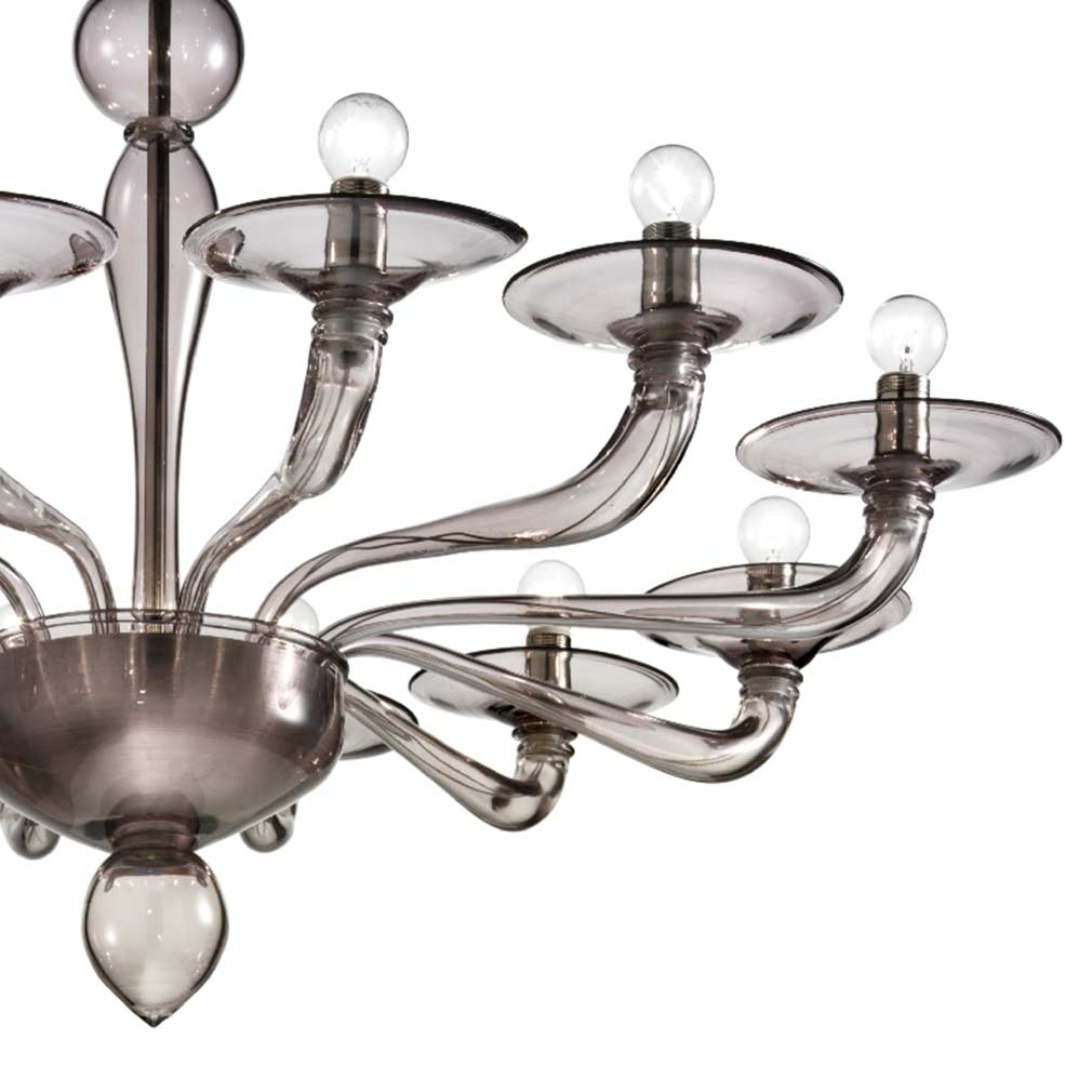 Petaluma Murano Glass Chandelier