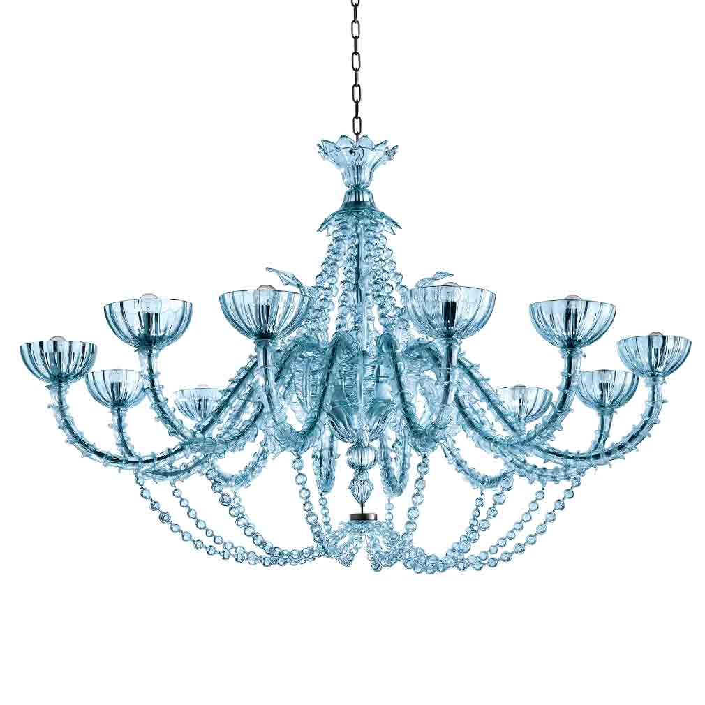 Roberta Chandelier Murano Glass Chandeliers