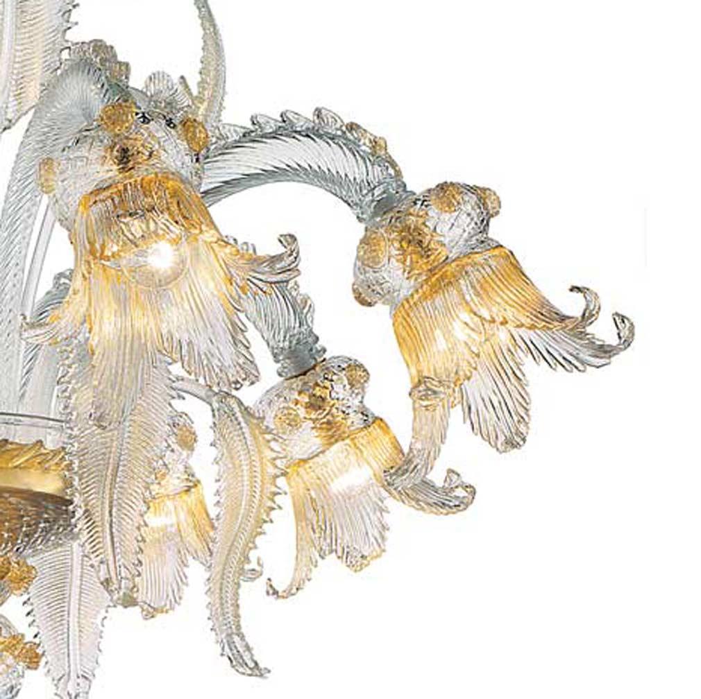 Secolo Murano Glass Chandelier
