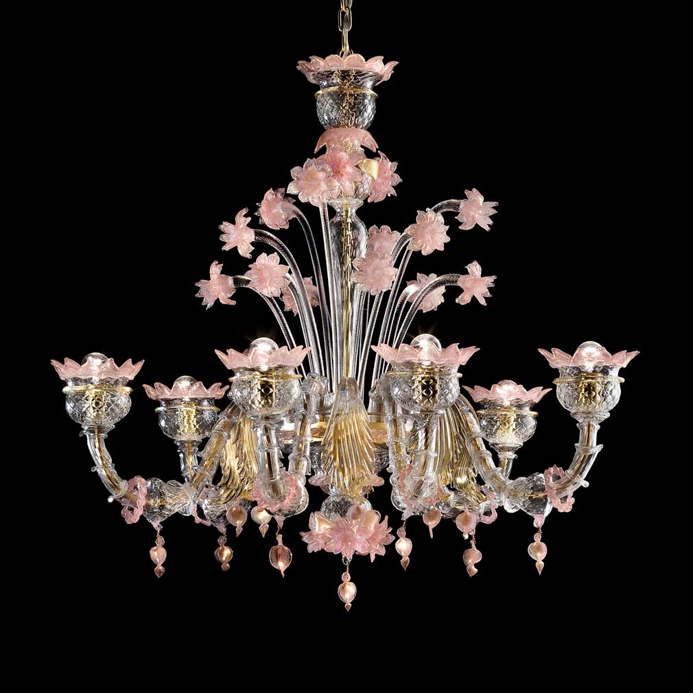 Sant Angelo Chandelier Murano Glass Chandeliers