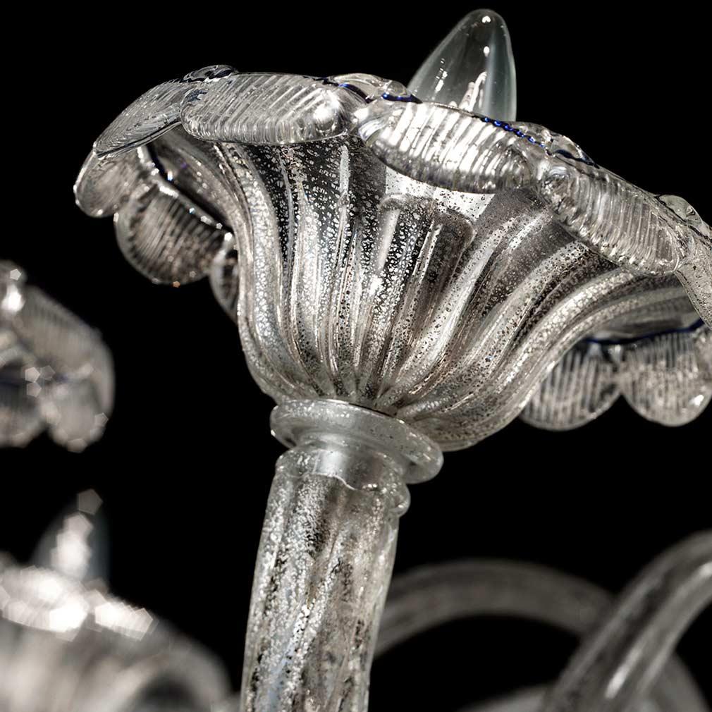 Silvermoon Murano Glass Chandelier