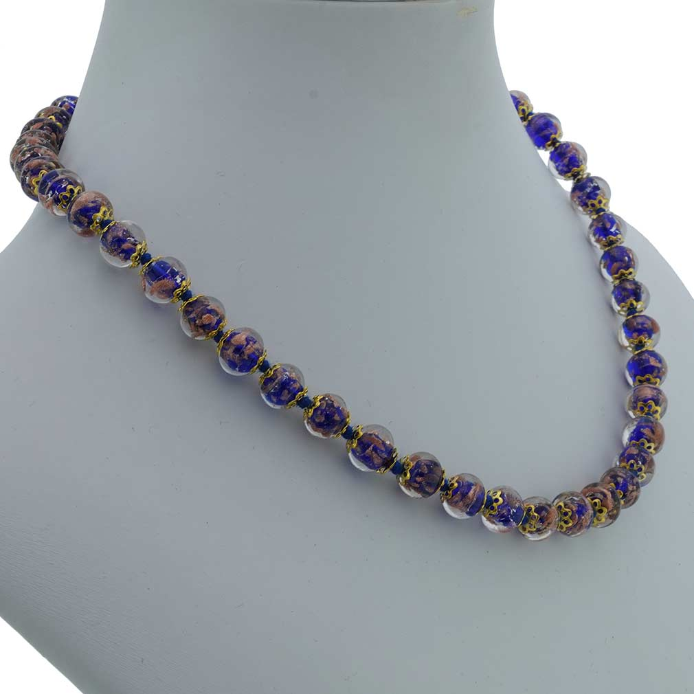 Sommerso Necklace - Navy Blue